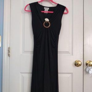 Speechless black hi-low dress size medium nwt